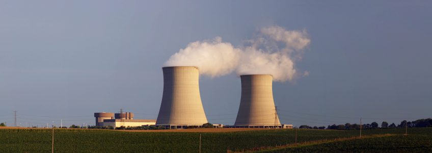 Picture of Byron Nuclear plant