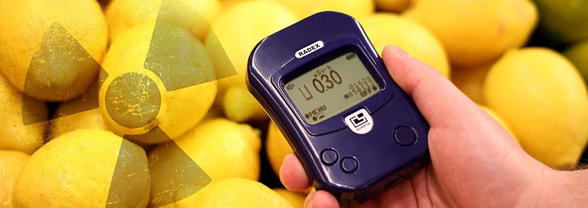 Can you test food with a Geiger Counter?